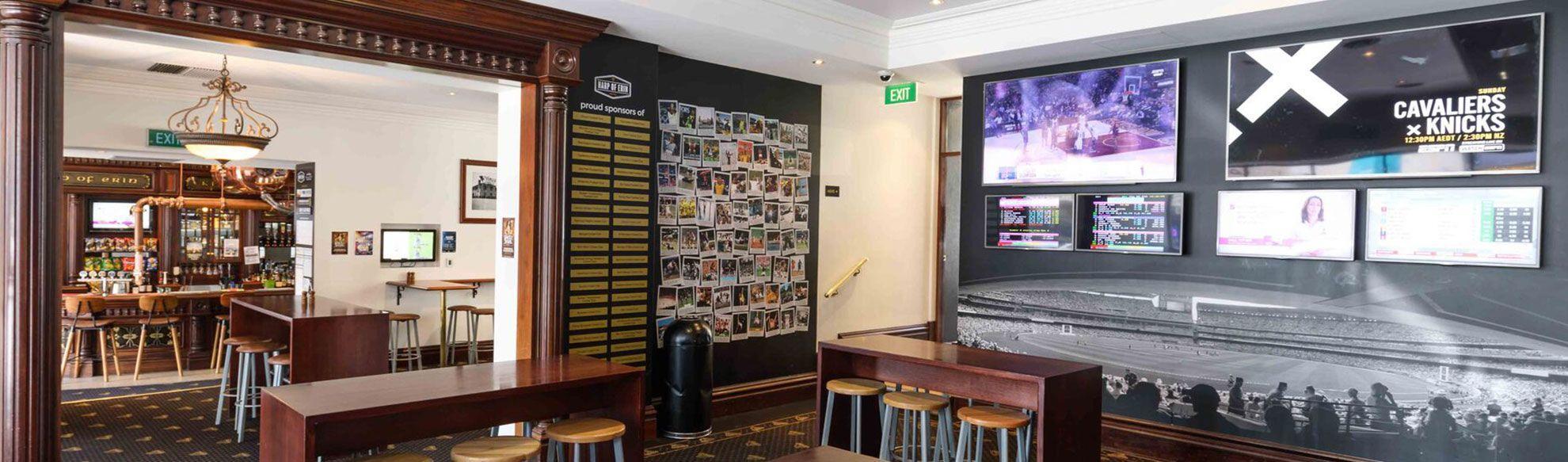sports bar in Kew